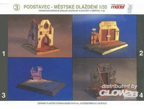 Plus Model Lokale Kommandatur-Ruine WW II 1:35 (033)