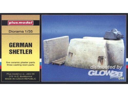 Plus Model Deutscher Bunker 1:35 (044)