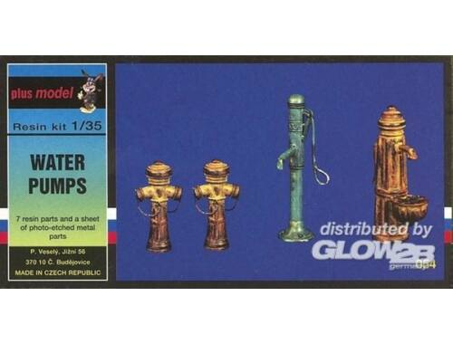 Plus Model Wasserpumpe 1:35 (054)