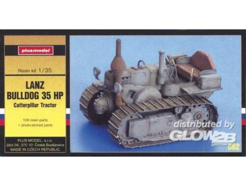 Plus Model Lanz Buldog 35 HP mit Ketten 1:35 (062)