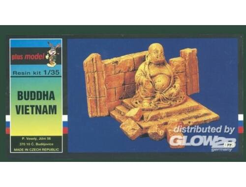 Plus Model Buddha Vietnam Keramik 1:35 (078)