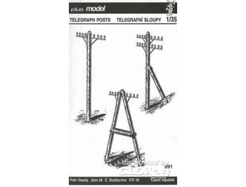 Plus Model Telegrafenmasten 1:35 (083)