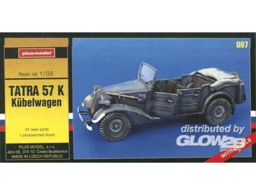 Plus Model Tatra 57 K Kübelwagen 1:35 (097)
