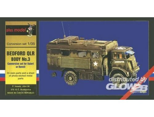 Plus Model Bedford QLR Body No.3 1:35 (098)
