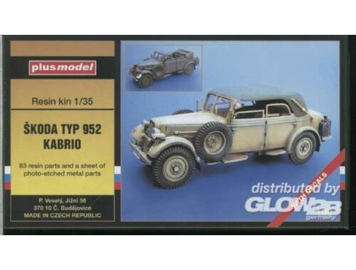 Plus Model Skoda Typ 952 Kabrio WW II 1:35 (100)