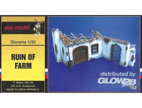 Plus Model Bauernhof Ruine 1:35 (102)