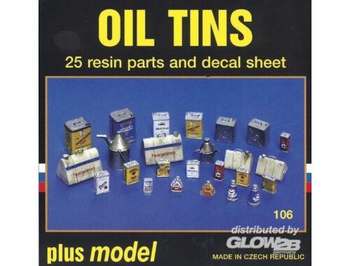 Plus Model Ölblechdosen 1:35 (106)