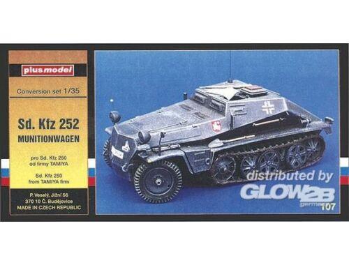 Plus Model Sd.Kfz 252 Munitionswagen für Tamiya Bausatz 1:35 (107)