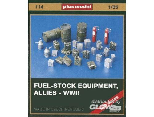 Plus Model Tanklager Zubehör Alliierte WW II 1:35 (114)