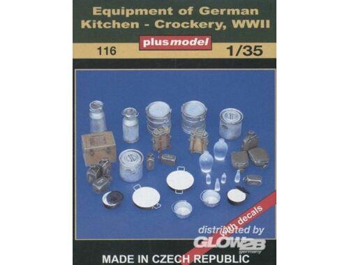 Plus Model Küchenzubehör Deutschland WWII 1:35 (116)