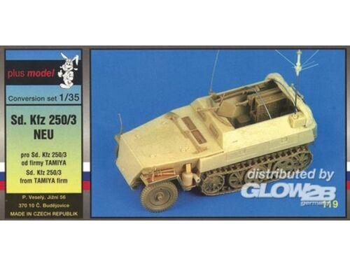 Plus Model Sd.Kfz 250/3 Umbausatz für Tamiya Bausatz 1:35 (119)