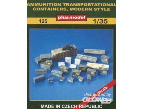 Plus Model Munitionskisten 1:35 (125)