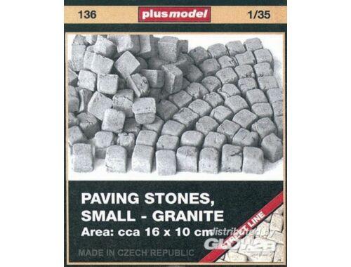 Plus Model Pflastersteine, klein, Granit 1:35 (136)