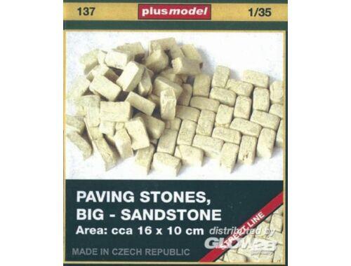 Plus Model Pflastersteine, groß, Sandsteine 1:35 (137)
