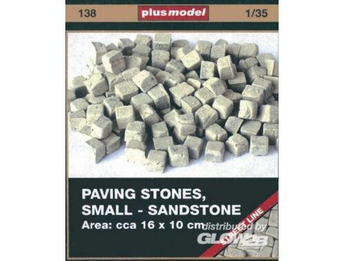 Plus Model Pflastersteine, klein, Sandsteine 1:35 (138)