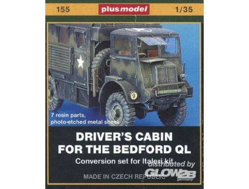 Plus Model Bedford QL Fahrerkabine 1:35 (155)