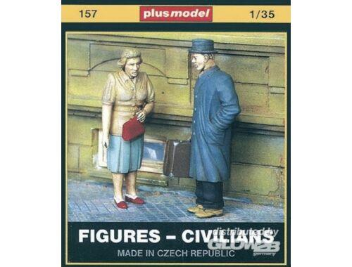 Plus Model Figuren - Zivilisten 1:35 (157)