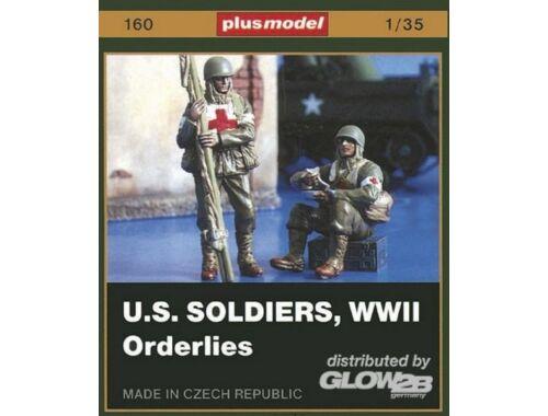 Plus Model U.S. Soldaten Sanitäter WW II 1:35 (160)