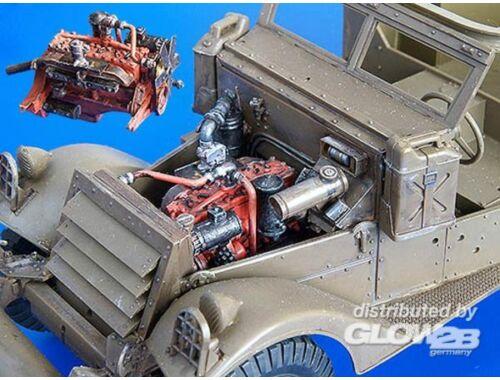 Plus Model M3 Spähwagen - Maschinen Satz 1:35 (162)