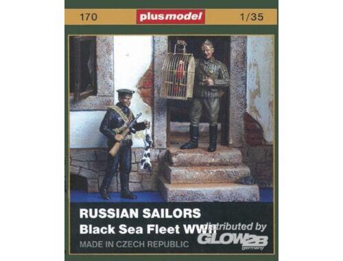 Plus Model Russische Matrosen (Schwarzmeerflotte) WW II 1:35 (170)