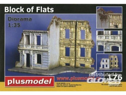 Plus Model Häuserblock Ruinen 1:35 (176)