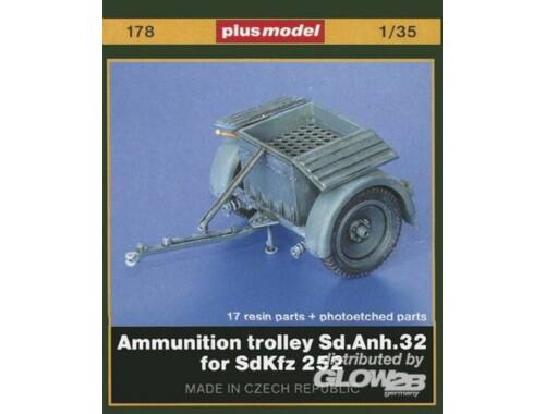 Plus Model Sd. Anh. 32 Munitionsanhänger für SdKfz. 252 1:35 (178)