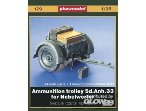 Plus Model Sd. Anh. 33 Munitionsanhänger für Nebelwerfer 1:35 (179)