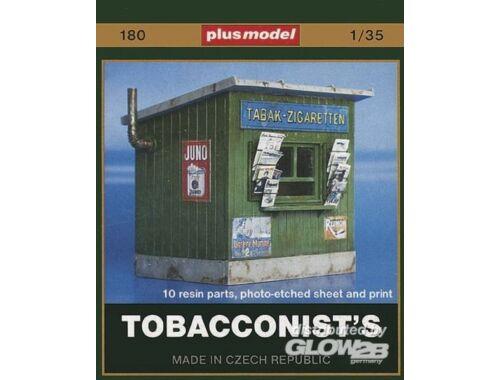 Plus Model Zigaretten Kiosk 1:35 (180)