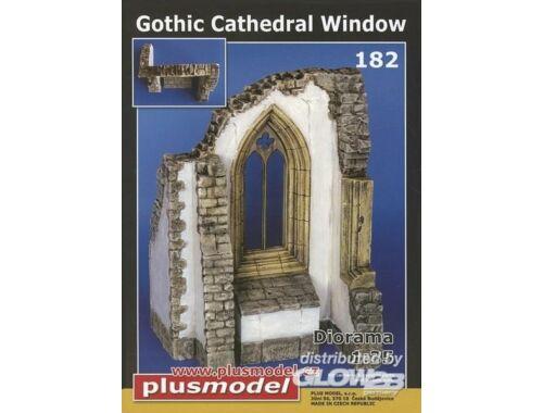 Plus Model Gotisches Kathedralen Fenster 1:35 (182)