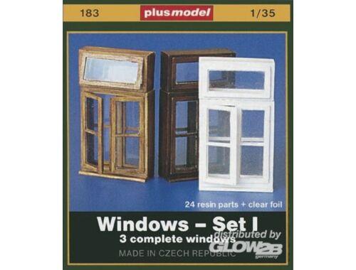 Plus Model Fenster Set I 1:35 (183)