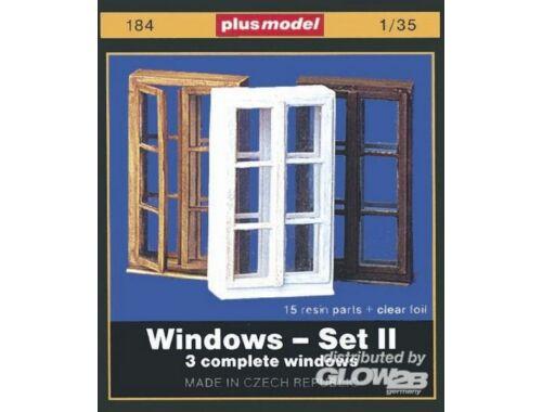 Plus Model Fenster Set II 1:35 (184)