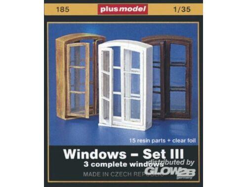 Plus Model Fenster Set III 1:35 (185)