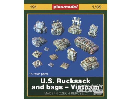 Plus Model U.S. Rucksäcke und Taschen - Vietnam 1:35 (191)