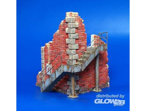 Plus Model Fabrikecke mit Treppe 1:35 (197)