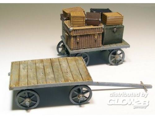 Plus Model Railway car on baggages 1:35 (207)