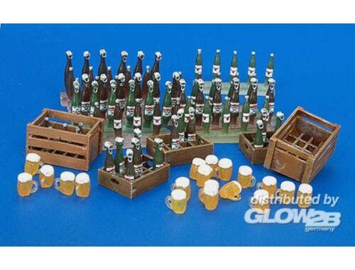 Plus Model Bierkisten, -flaschen und -Gläser 1:35 (220)