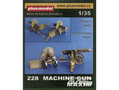 Plus Model Maschinengewehr Maxim 1:35 (228)