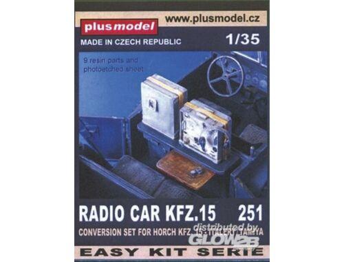 Plus Model Funkwagen Kfz. 15 für Tamiya Bausatz 1:35 (251)