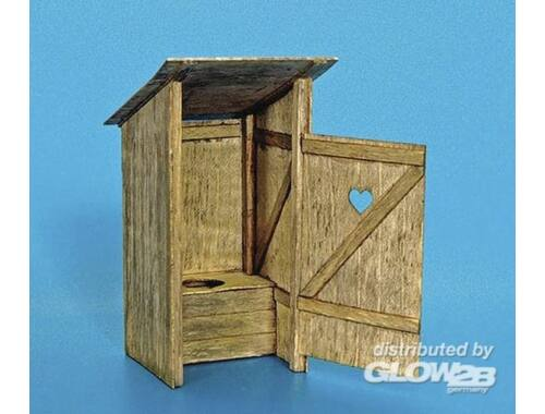 Plus Model Holz-Toilette 1:35 (263)