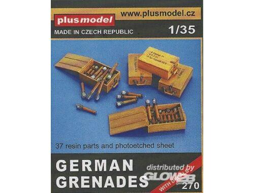 Plus Model Deutsche Handgranaten I 1:35 (270)