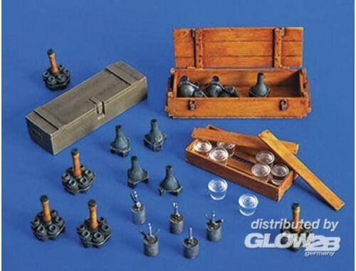 Plus Model Deutsche Granaten und Minen 1:35 (274)