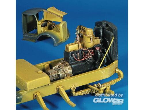 Plus Model Opel Blitz Motor für Italeri Bausatz 1:35 (301)