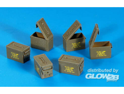 Plus Model U.S. Munitions-Kisten Cal 5,56 1:35 (318)