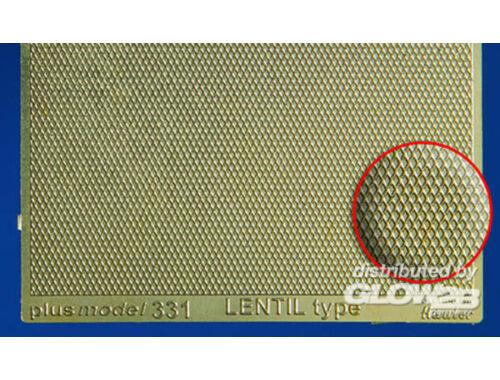 Plus Model Lentil Type Engraved Plate 1:35 (331)