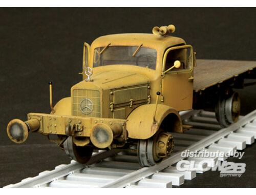 Plus Model Mercedes L4500A Eisenbahn Lastwagen 1:35 (347)
