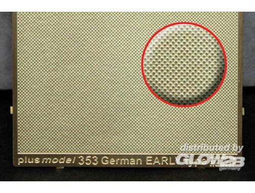 Plus Model Engraved plate - German Early 1:35 (353)