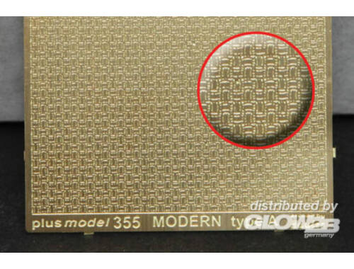 Plus Model Engraved plate - Modern A type 1:35 (355)