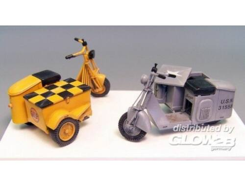 Plus Model U.S. Scooter sidecar 1:35 (362)