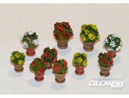 Plus Model Blumen in Blumentöpfen 1:35 (380)