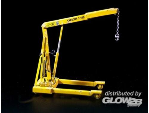 Plus Model U.S. Workshop crane 1:35 (386)